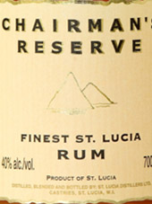 Chairmans Reserve Finest St. Lucia Rum