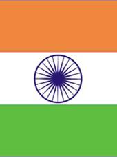 Indien Fahne