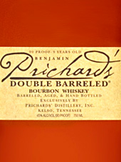 Prichards Double Barreled Bourbon Whiskey