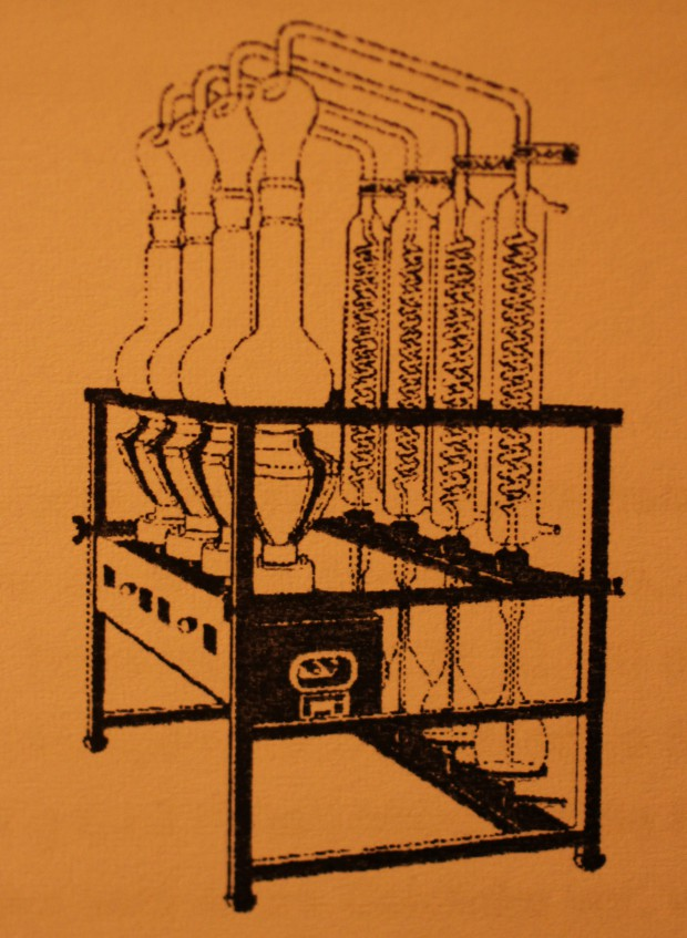 Destillationsapparatur