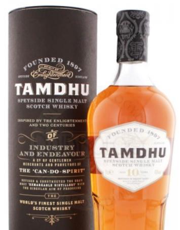 Tamdhu Single Malt Whisky 10 Jahre