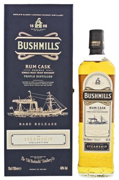 Bushmills Steamship Collection Rum Cask Reserve Triple Distilled Rare Release 0,7L 40%