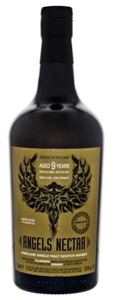 Angels Nectar Tullibardine Single Malt Whisky 9 Jahre Cask Strength 2008/2017 0,7L 56,6%