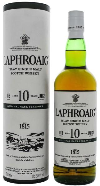 Laphroaig 10 Jahre Cask Strength Batch 13 0,7L 57,9%