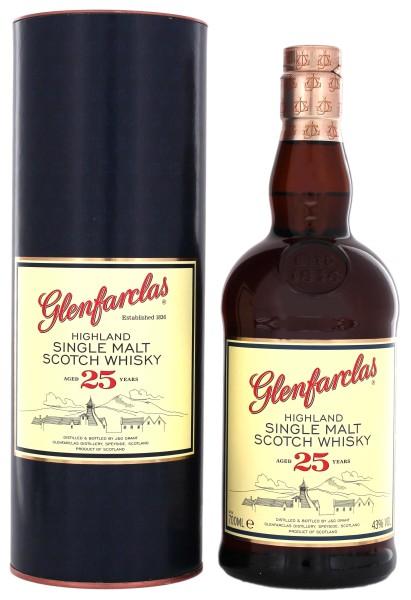 Glenfarclas Single Malt Whisky 25 Jahre 0,7L 43%