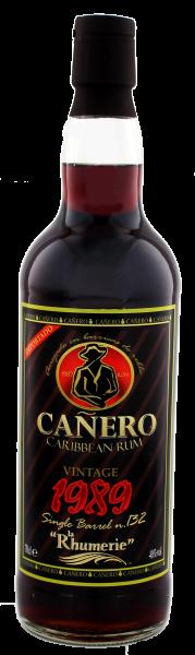Canero Rum Vintage 1989 Single Cask 0,7L 40%