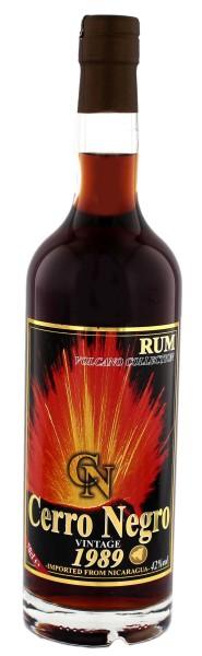 Cerro Negro Rum 1989