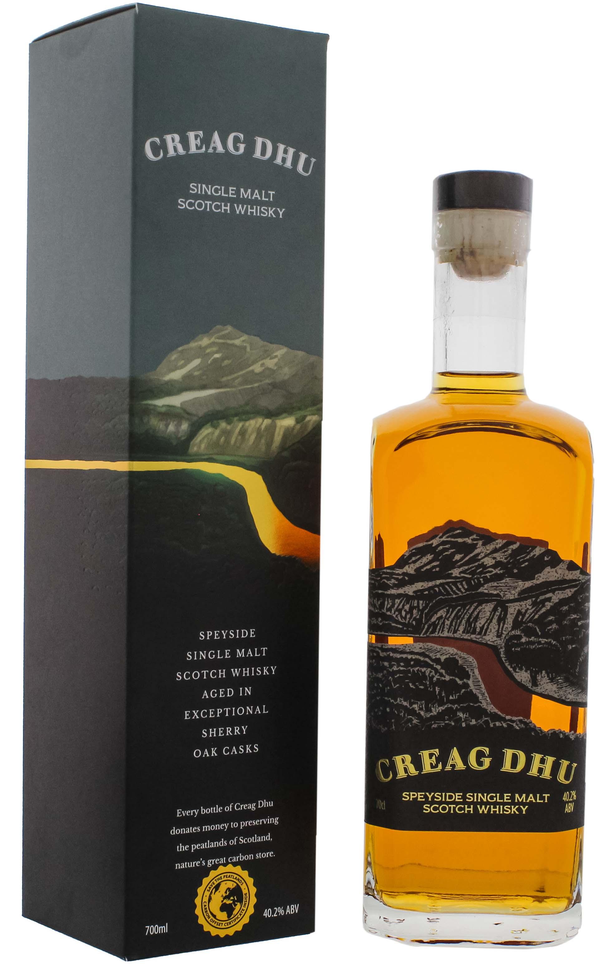 Creag Dhu Speyside Single Malt Whisky 0,7L 40,2%