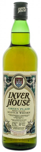 Inver House Green Plaid Whisky 0,7L 40%
