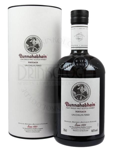 Bunnahabhain Single Malt Whisky Toiteach 18 Years Old