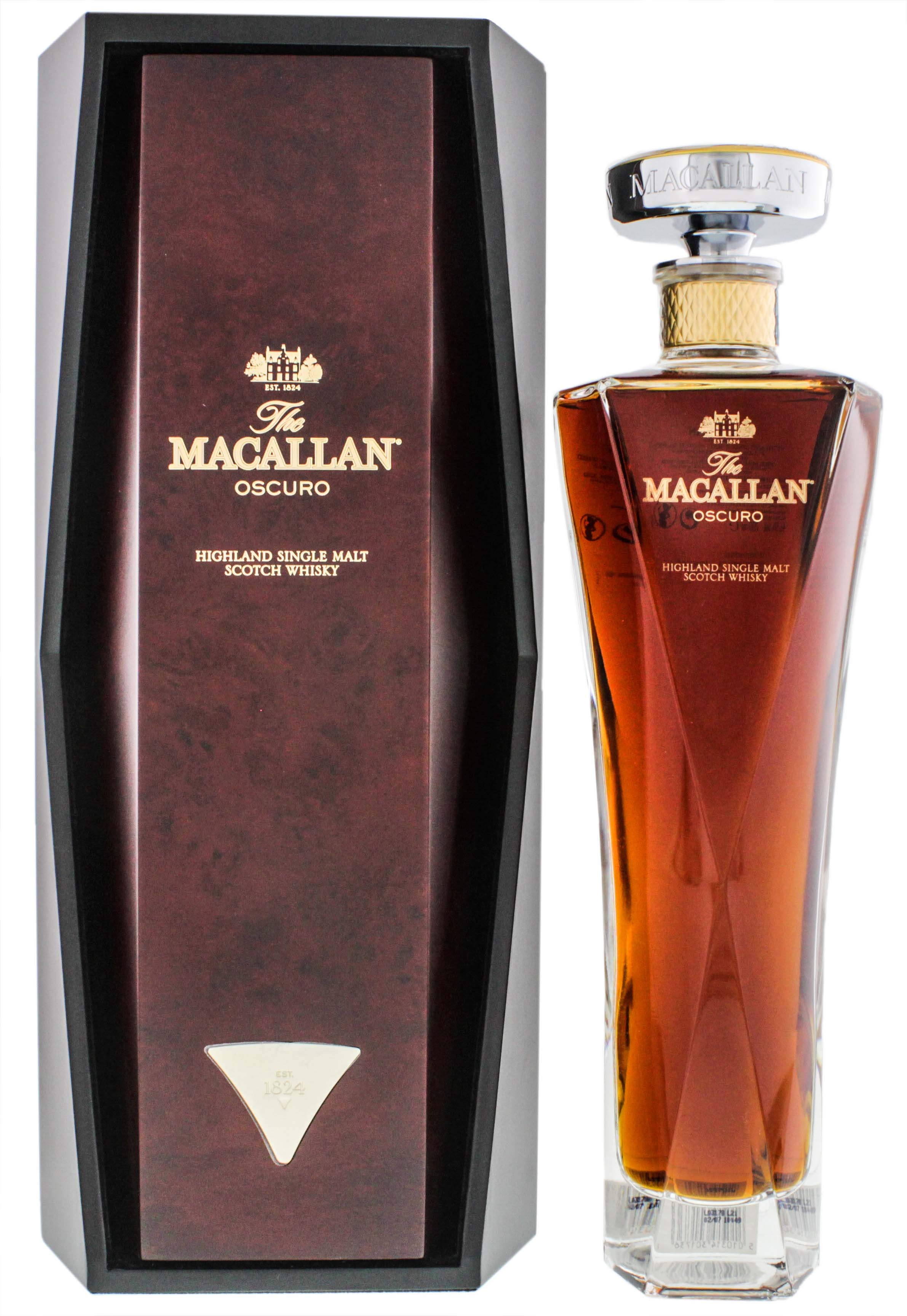 Macallan Oscuro Single Malt Whisky, 0,7 L, 46,5%