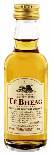 Te Bheag Original Blended Whisky Miniatur, 0,05 L
