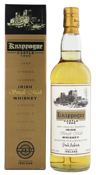 Knappogue Castle Irish Single Malt Whiskey 1995