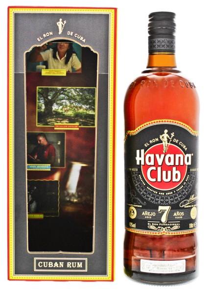 Havana Club Rum Anejo 7 Years, 1 L, 40%
