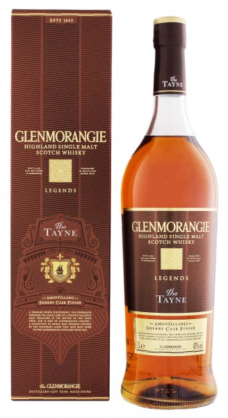 Glenmorangie Highland Single Malt Whisky The Tayne