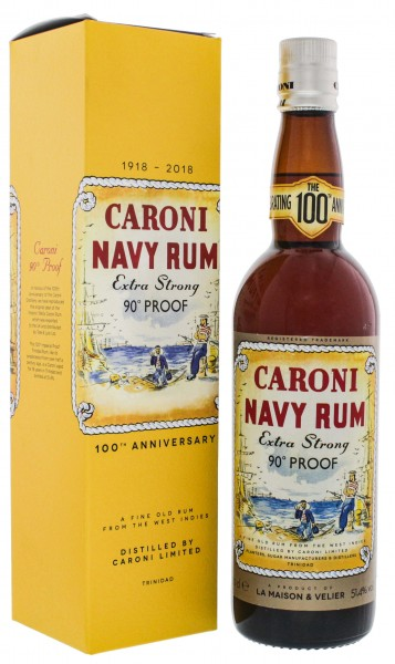 Caroni Navy Rum Extra Strong 100th Anniversary 0,7L 51,4%
