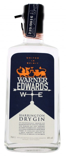 Warner Edwards Harrington Gin 0,7L 44%