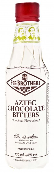 Fee Brothers Aztec Chocolate Bitters 0,15L 2,6%