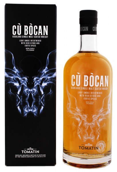 Tomatin Single Malt Whisky Cù Bòcan, 1,0L 46%