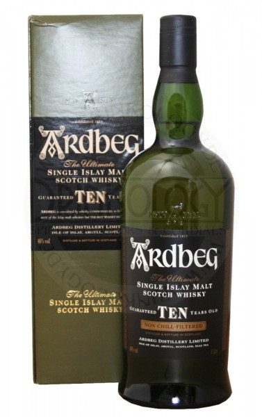 Ardbeg Single Malt Whisky 10 Years Old
