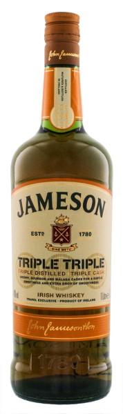Jameson Triple Triple Irish Whisky 1,0L 40%