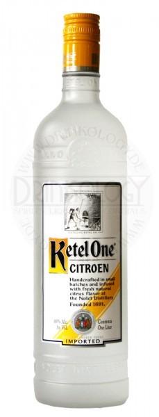 Ketel 1 Vodka Citroen, 1 L, 40%