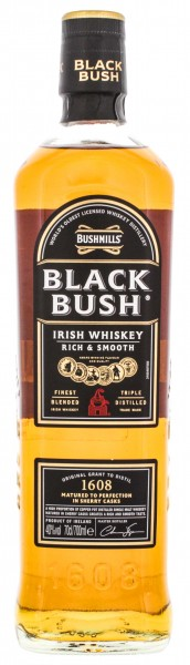 Black Bush Irish Whiskey 0,7L 40%