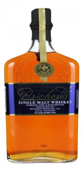 Prichard's Single Malt Whiskey 0,7L 40%