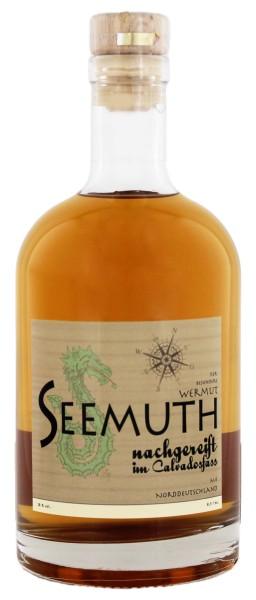 Seemuth Wermut Nachgereift im Calvados Fass , 0,5 L