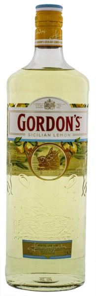 Gordons Sicilian Lemon Gin 1,0L 37,5%