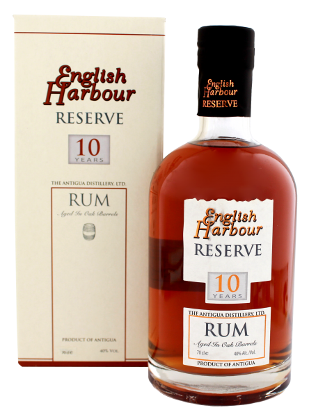 English Harbour Rum 10 Years Old, 0,7L 40%