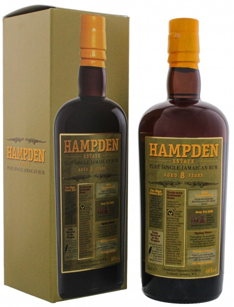 Hampden Estate Pure Single Jamaican Rum 0,7L 46%