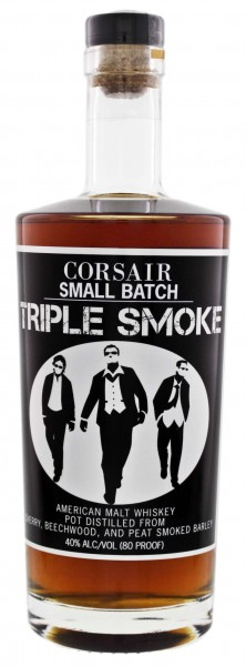 Corsair Triple Smoke Whiskey 0,7L 40%