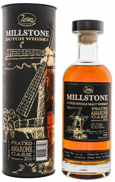 Zuidam Millstone Whisky Peated Amarone Cask Special No. 19 0,7L 46%
