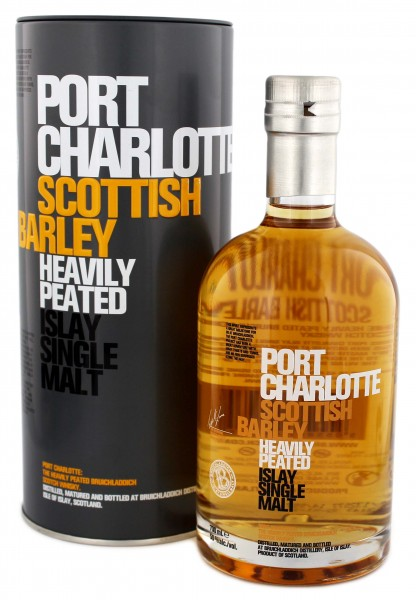 Port Charlotte Scottish Barley Heavily Peated 0,7L 50%