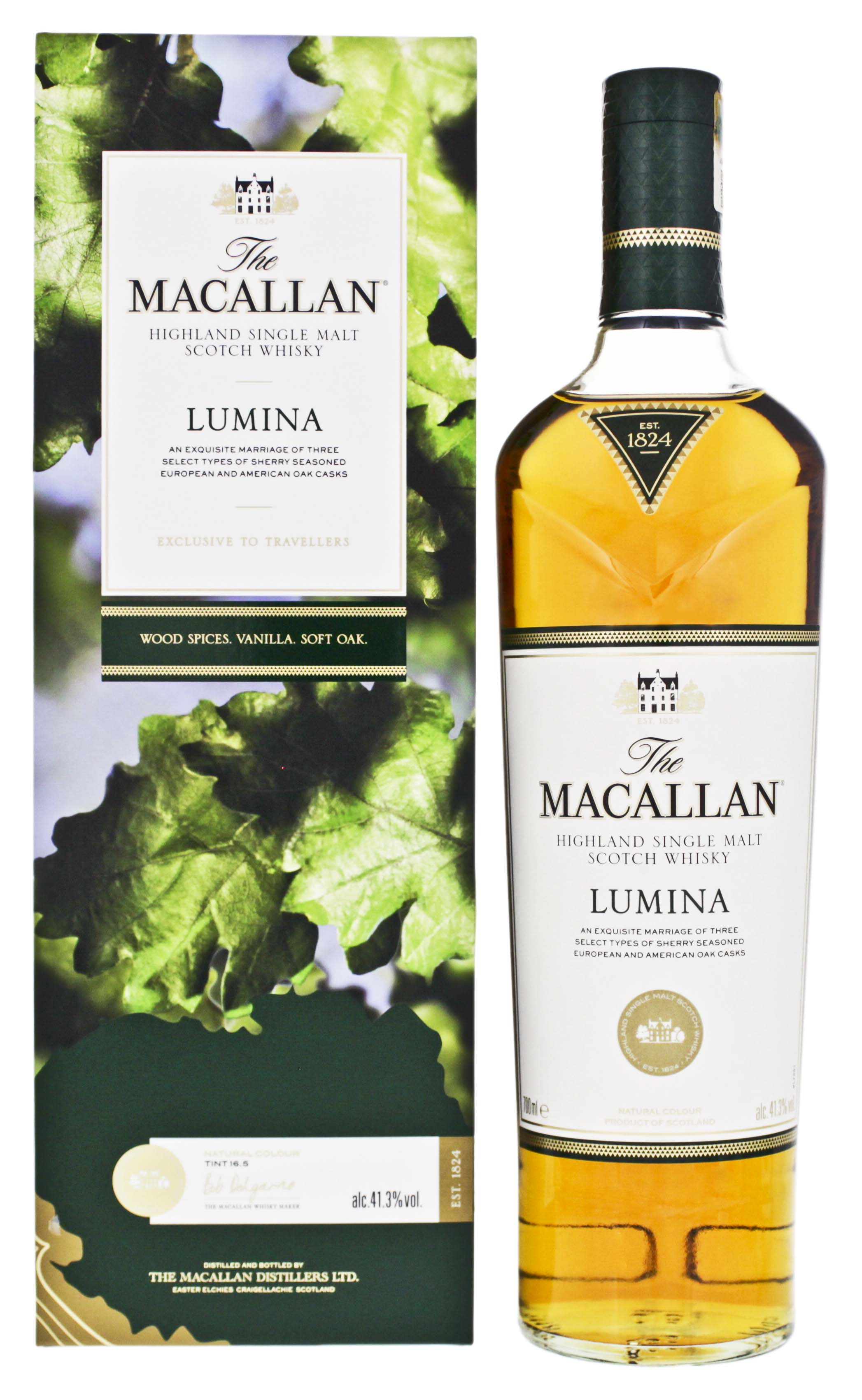 Macallan Highland Single Malt Whisky Lumina 0,7L 41,3%