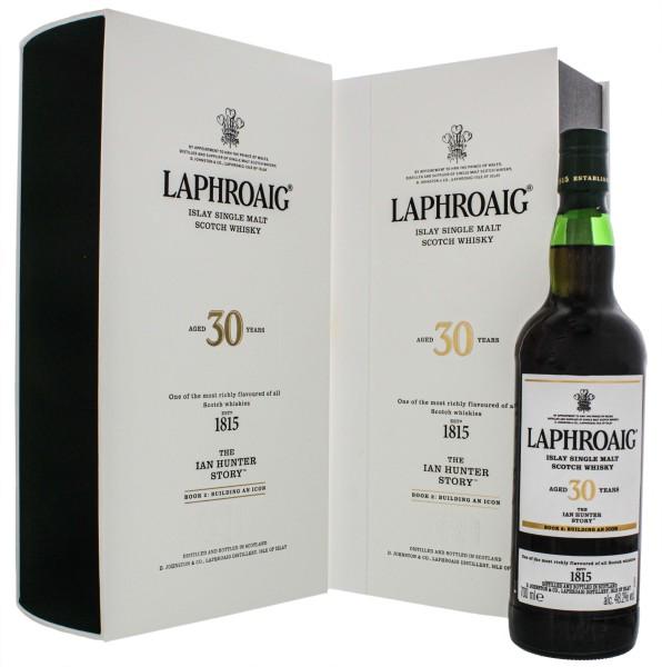 Laphroaig 30YO The Ian Hunter Story Book 2 Building an Icon Single Malt Scotch Whisky 0,7L 48,2%