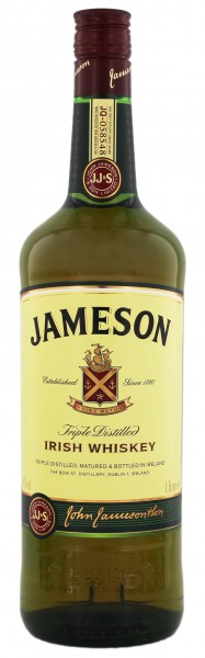 Jameson Irish Whiskey 1,0L 40%