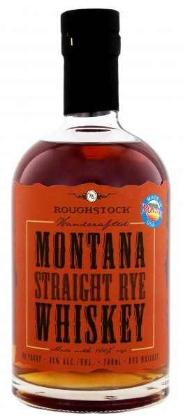 Roughstock Montana Straight Rye Whiskey