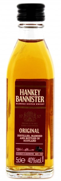 Hankey Bannister Pure Malt Whiskey Miniatures