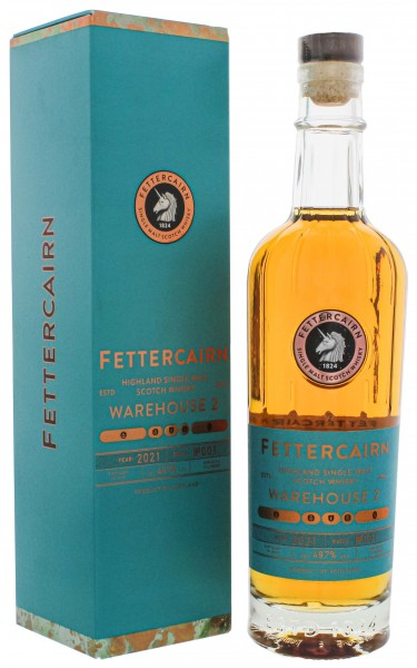 Fettercairn Warehouse 2 Batch No. 001 2021 Highland Single Malt Whisky 0,7L 49,7%