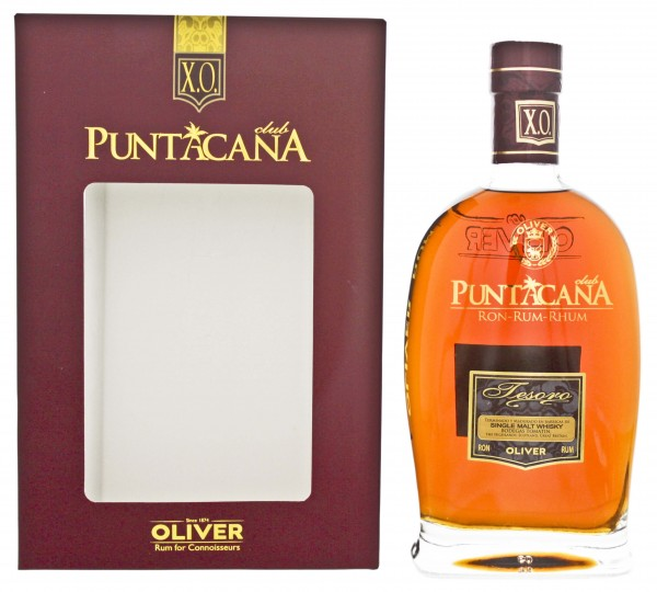 Puntacana Rum Tesoro 15 Jahre Malt Whisky Finish 0,7L 38%