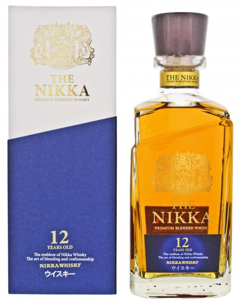 Nikka Japanese Blended Whisky 12YO 0,7L 43%
