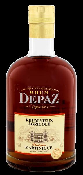 Depaz Plantation Rum, 0,7 L, 45%