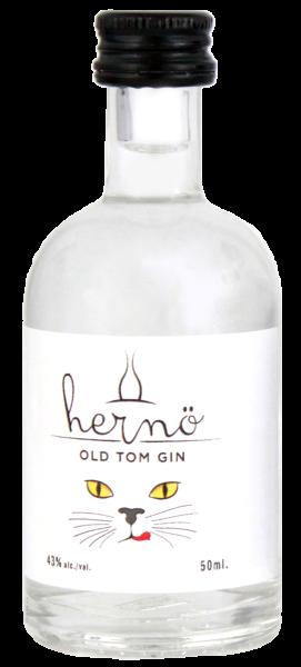 Hernö Old Tom Gin Miniatur (Bio) 0,05L 43%