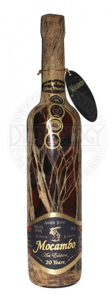 Mocambo Rum Anejo 20 Years Old, 0,5 L, 40%