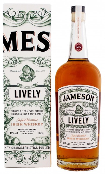 Jameson Deconstructed Series Lively Irish Whiskey 1,0L 40%