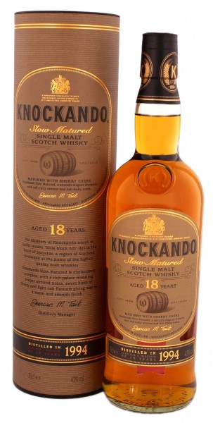 Knockando Slow Matured Single Malt Whisky 18 Jahre 1994, 0,7 L, 43%