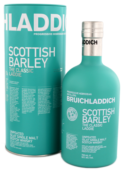 Bruichladdich Malt Whisky Scottish Barley The Classic Laddie , 0,7 L, 50%