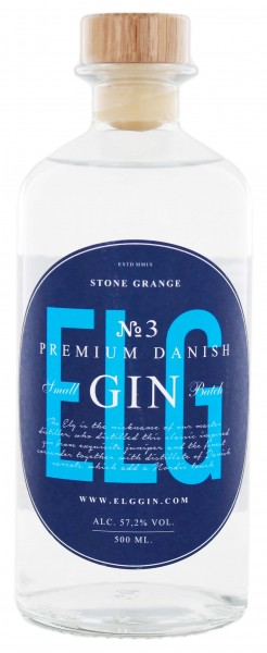 Elg Gin No. 3 Navy Strength